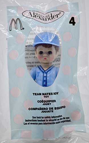 2005 - McDonald's/Madame Alexander - Team Mates Boy Doll #4 - Blue Uniform & Hat - Happy Meal Toy - Collectible
