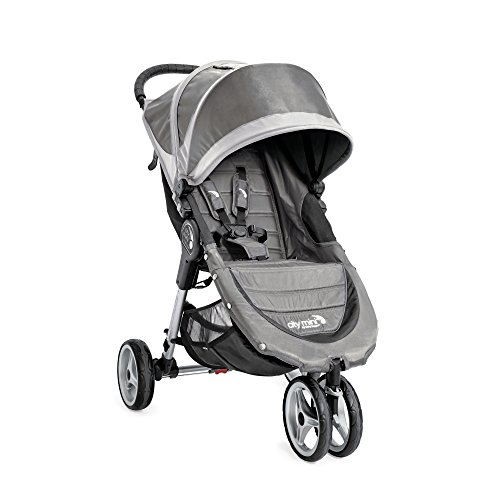 Baby Jogger City Mini Single Stroller, Steel Gray