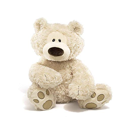 (GUND Philbin Teddy Bear Stuffed Animal Plush, Beige, 18