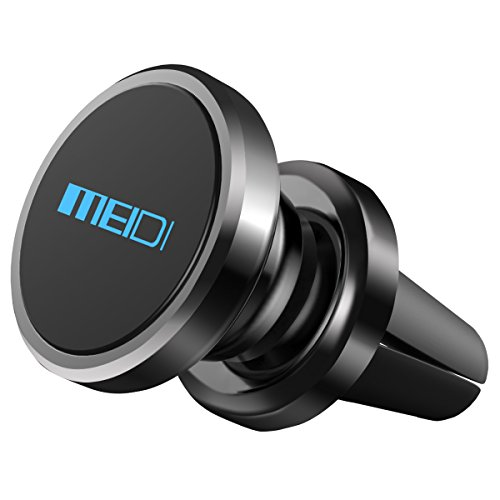 MEIDI Magnetic Car Mount Air Vent Multi-Angle Rotation Phone Holder for iPhone 7/6 Plus, Samsung and More