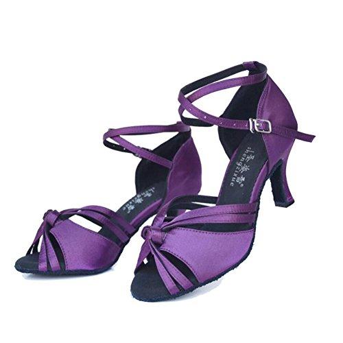 para Zapatos Mujer XUE Sal Latinos de Zapatos w0qnnfCS