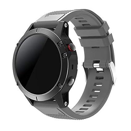 SUPREMO Garmin Fenix 5 Watch Band, ajuste rápido correa de reloj ...