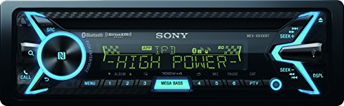 sony-mex-xb100bt-single-din-hi-power-bluetooth-in-dash-cd-am-fm-siriusxm-ready-car-stereo-with-160w-