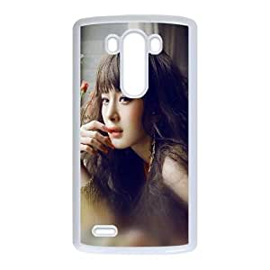 LG G3 Cell Phone Case White hf83 yang mi actress singer beauty sexy SUX_155904
