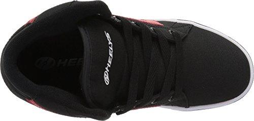 Pictures of Heelys Boys' GR8R Hi Tennis Shoe, Black/Red, 2 Medium US Big Kid 3
