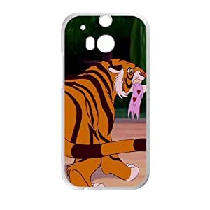 HTC One M8 Phone Case White Aladdin Rajah DYW5160304