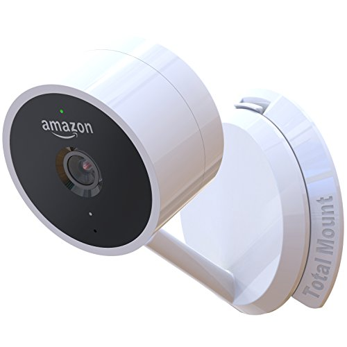 TotalMount Hole-Free Mount for Amazon Cloud Cam (Eliminates The Need to Drill Holes in Your Wall) by TotalMount