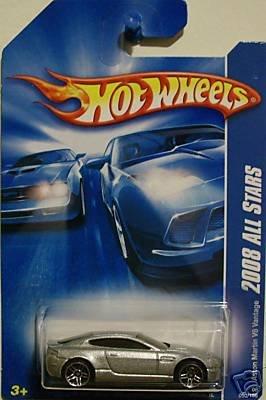 Hot Wheels 2008-050 Aston Martin V8 Vantage All Stars 1:64 Scale Aston Martin V8 Cars