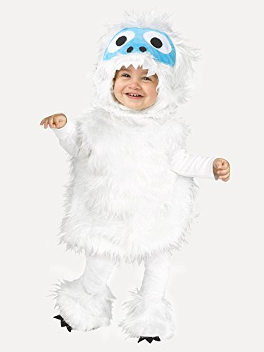 Fun World Snow Beastie Toddler Costume, Multicolor, Large
