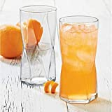 Cheap LIBBEY Rhombus Drinking Glasses Collection 4-piece Set (High Ball Cooler)