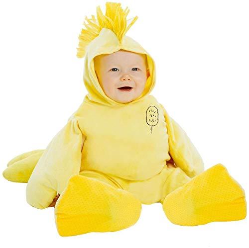 Peanuts Woodstock Super Deluxe Toddler Costume 1T/2T