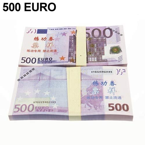 - preliked Currency Toy EUR US Dollars Bank Foreign Currency Training Collect Banknotes 100 Pcs