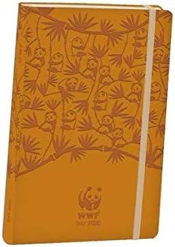 Agenda Comix WWF giornaliera 2020-13x22 cm senape