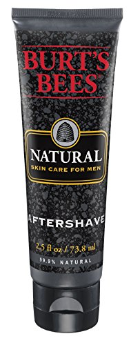 Burt's Bees Natural Skin Care for Men Aftershave, 2.5 Fluid Ounces (Pack of 3)