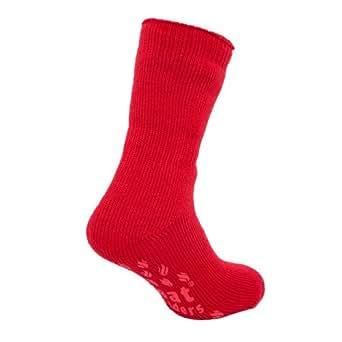Calcetines para dormir Hombres Rojo Rico Térmicos Conservadores del calor Tallas 39 - 46