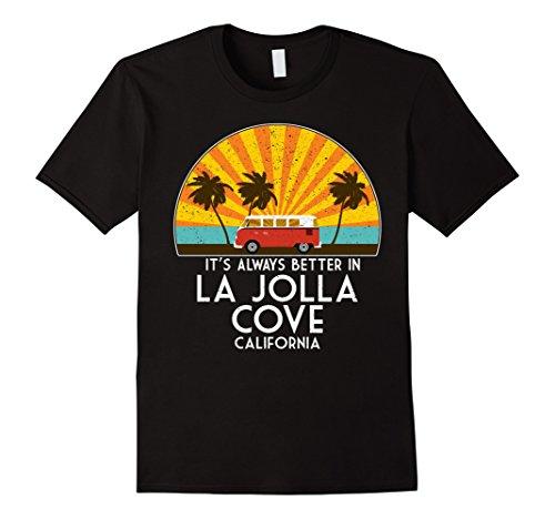 Mens La Jolla Cove, California Souvenir T-Shirt - La Jolla Gift XL - Jolla Shops Gift La