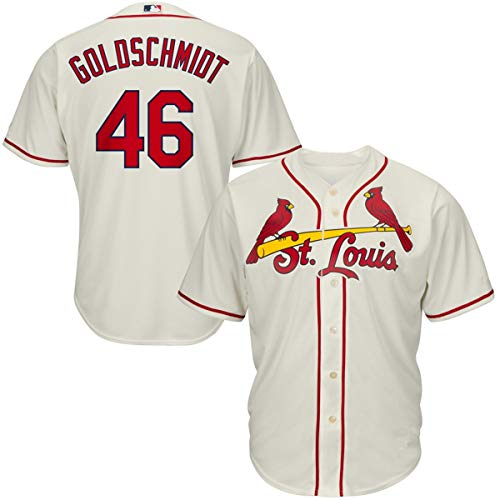- Men's #46 Paul Goldschmidt St. Louis Cardinals Cool Base Player Jersey