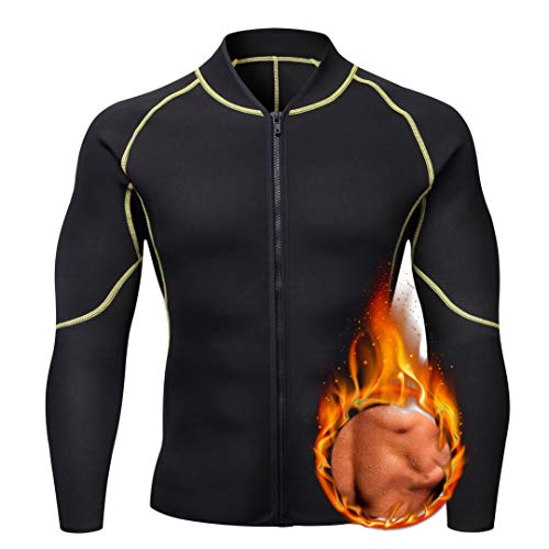 ANRABESS Men Waist Trainer Vest Hot Sweat Shirt Neoprene Tummy Fat Burner CX-3XL WF7 ()