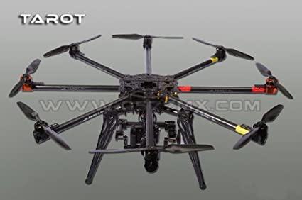 Amazon com: Tarot IRON MAN 1000 FPV Octa-Rotor 8 rotor