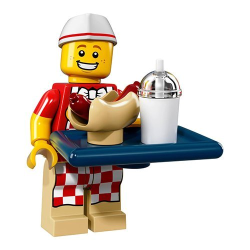 Lego Minifigures Series 17 Blind Mystery Bag - Hot Dog Man (New Open Bag)