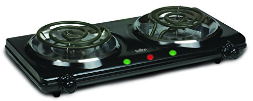 Salton HP1427 Portable Cooking Range, Double Burner, (Cooking Range)