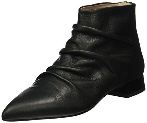 Paco Gil Damen P3108 Kurzschaft Stiefel Schwarz (Black)