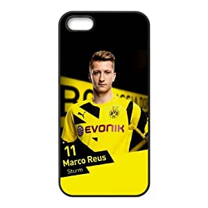 IPhone 5,5S Phone Case for Classic theme BVB 09 Marco Reus pattern design GQCTMRS757894