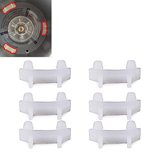 6 Pack Rubber Bush Spare Part Shock Pad For Nutribullet 900W 600W Juice
