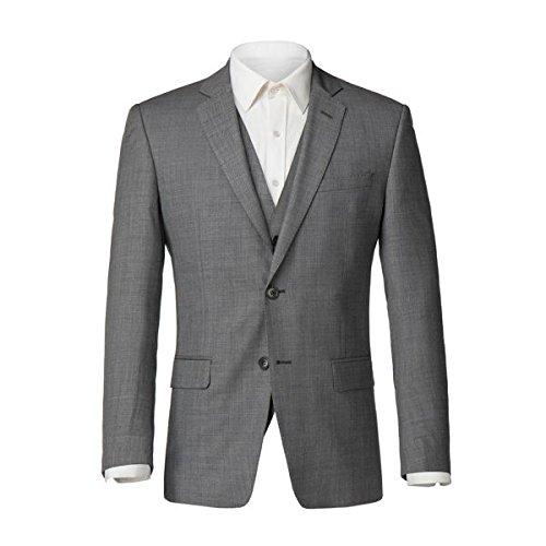 [アレクサンダーオブイングランド] メンズ ジャケット&ブルゾン Windsor Grey Sharksin Jacket [並行輸入品] B07F35PLSX 36s
