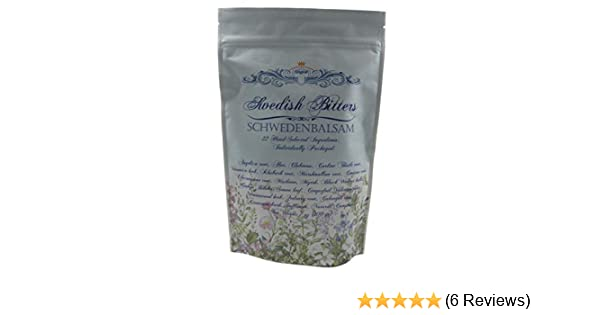 Amazon.com: Swedish Bitters, 22 Dry Herbs Mixture (Original Maria Treben Recipe) 200grams: Kitchen & Dining