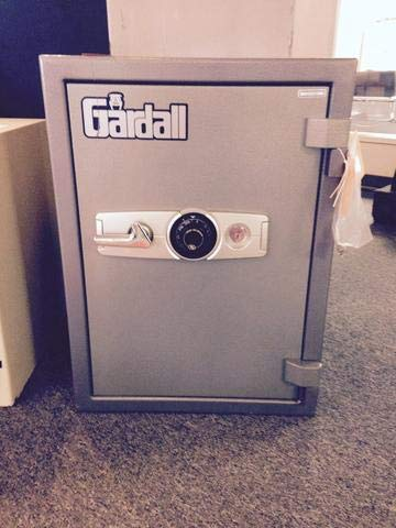 Gardall 1-Hour Fire-Resistant Combination Lock Home Safe Size - Medium - 23.25W x 25D x 31.75H inches