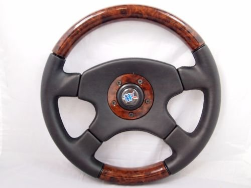 4 spoke wood grain steering wheel - 1
