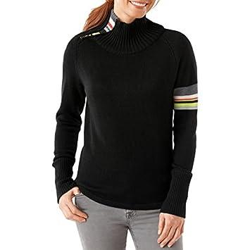 87d8b9b3396415 Smartwool Damen Isto Sport Pullover – Schwarz