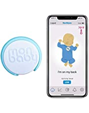 MonBaby Baby Monitor with Breathing Rollover Movement Temperature Sensors: Track Your Baby's Breathing, Sleeping Position, Skin and Ambient Temperature. Low Energy Bluetooth Connectivity.