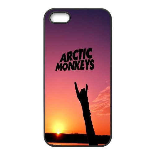 High quality Arctic Monkey logo, Rock band music,Arctic Monkey band protective case cover For Apple Iphone 5 5S Cases QH596718119