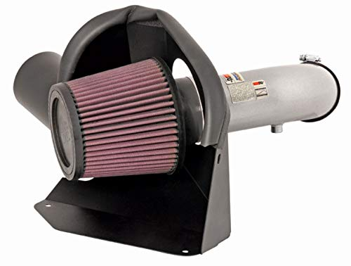 K&N Cold Air Intake Kit with Washable Air Filter:  2007-2013 Nissan Altima, 2.5L L4,  Polished Metal Finish with Red Oiled Filter, 69-7061TS