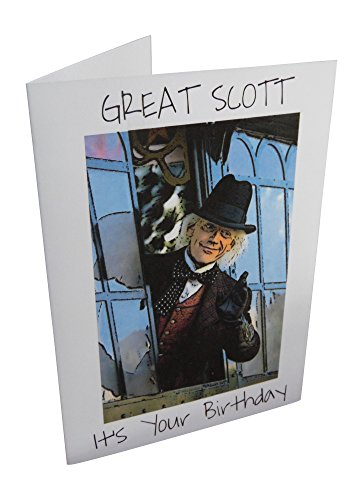 Price comparison product image Back to the Future Doc Brown Greeting Card