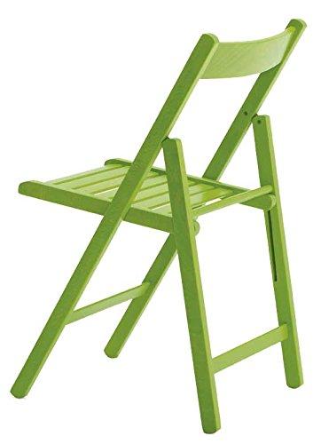 Aranaz Silla Plegable Haya, Haya, Verde, 43 X 47 X 79 cm