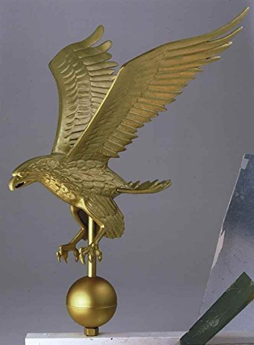 Whitehall Products Flagpole Eagle, Large, Multicolored by Whitehall