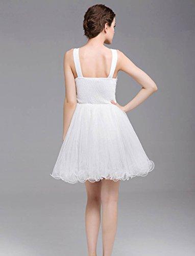 Party abito Vimans® con sera Gowns donna da White 2016 Pantaloncini da elegante paletta 16TAF