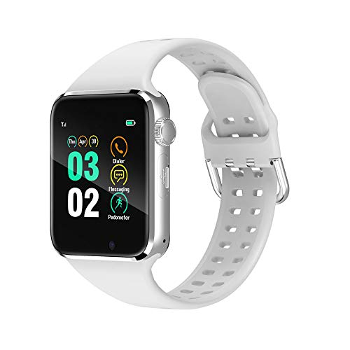 321OU Smart Watch Compatible iOS Android iPhone Samsung for Men Women, Make/Answer Calls, Checking Messages Support…