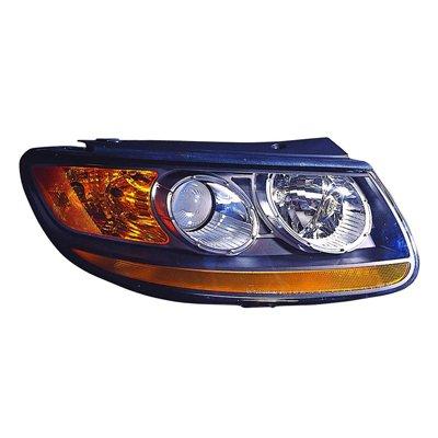 MAPMプレミアム助手席側ヘッドライトアセンブリ; withオレンジLower Reflector for 2010 – 2012 Hyundai Santa Fe B073SHX796