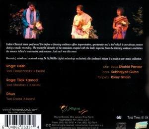 Shahid Parvez: Live