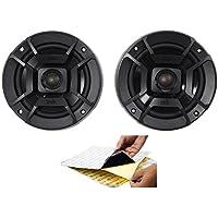 (2) Polk Audio DB522 5.25 600w Car Audio ATV/Motorcycle/Boat Speakers + Rockmat