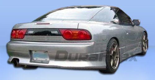 Duraflex Replacement for 1989-1994 Nissan 240SX S13 HB V-Speed Rear Bumper Cover - 1 Piece