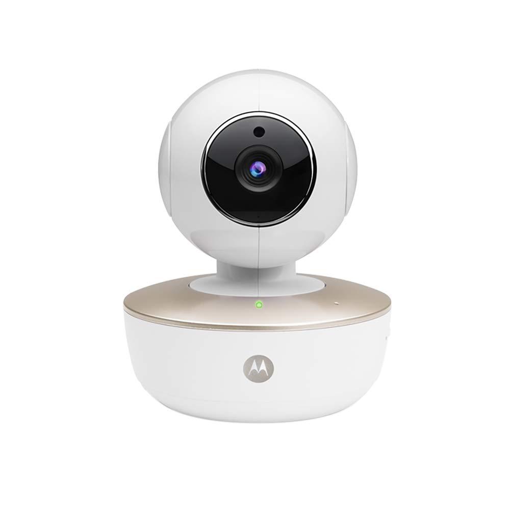 "Motorola Baby MBP67 Connect - Babyphone ""dual mode"" Wi-Fi avec vision nocturne infrarouge et communication bidirectionnelle, couleur blanc PNI-MBP67"