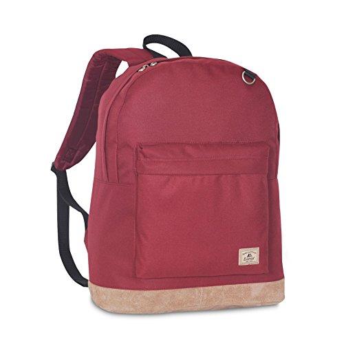 Suede Bottom - Everest Suede Bottom Backpack, Burgundy
