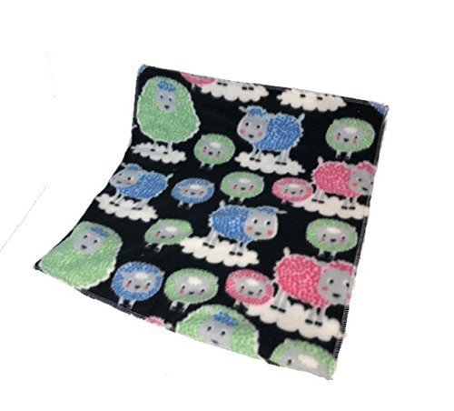 Waterproof pet mat- multicolored sheep