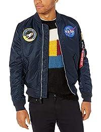 Alpha Industries Mens L-2b NASA Flight Jacket Jacket