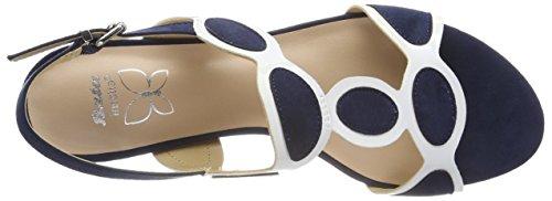 Sandales 9 Blu Bleu Arriere 669297 Femme BATA Bride 50RBwqw